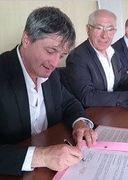 Signature d'une convention de partenariat AUDAP / CDT