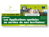Colloque : les applications spatiales au service de nos territoires