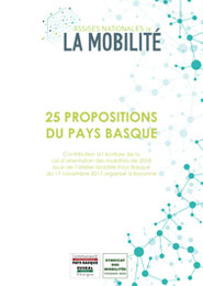 Assises Nationales de la Mobilité : 25 propositions du Pays Basque